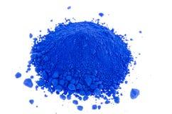 Colorants bleus Photographie stock