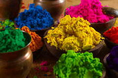 Colorants indiens photo libre de droits