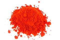 Colorants oranges Images libres de droits