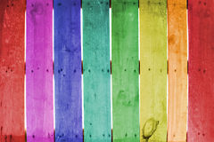Colorate wood Royalty Free Stock Image