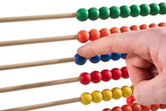 Colorated abacus Stock Photo