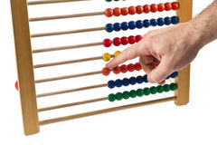 Colorated abacus Stock Images