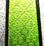 Colorated glass and sun in morocco africa window and light Royalty Free Stock Image