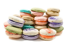 Colorated macarons Stock Photography