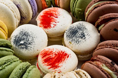 Colorated macarons Royalty Free Stock Photo