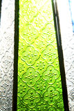 Colorated  sun in morocco africa window and Royalty Free Stock Photos