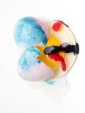 Coloration d'oeuf de pâques Photographie stock