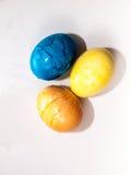 Coloration d'oeuf de pâques Photos stock