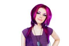Coloration de cheveux photo libre de droits