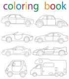 coloration de livre Photos libres de droits