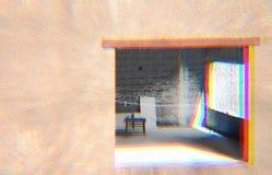 Coloration du greyness interne images libres de droits