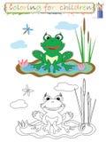 Coloration pour des enfants. Photographie stock