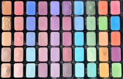 Colorato componga il kit per le donne Fotografia Stock