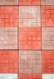 Colorato pavimentare primo piano immagini stock