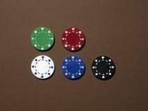 Colorchips Royalty-vrije Stock Afbeeldingen