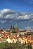 colore πορτρέτο Πράγα Στοκ εικόνα με δικαίωμα ελεύθερης χρήσης