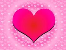 Colore 01 del cuore Fotografia Stock Libera da Diritti