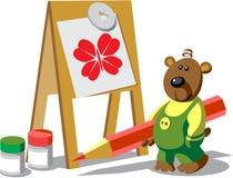 Colore 12 dell'orso royalty illustrazione gratis