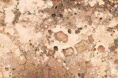 Colore approssimativo di beige di struttura della meteorite immagine stock