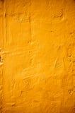 Colore arancio di struttura del muro di cemento Fotografia Stock