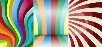 Colore astratto fotografie stock