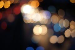 Colore astratto del bokeh Fotografie Stock