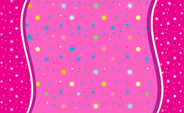 Colore astratto di rosa del fondo, Immagine Stock