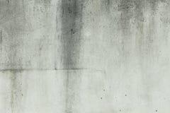 Colore bianco del muro di cemento in bianco per il fondo di struttura Immagine Stock Libera da Diritti