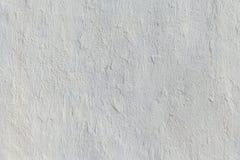 Colore bianco del muro di cemento in bianco per il fondo di struttura Fotografie Stock Libere da Diritti