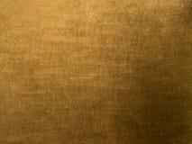 Colore in bianco dell'Fondo-oro del velluto Immagini Stock