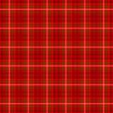 Colore bianco e verde luminoso e rosso scuro di tartan del plaid del tessuto scozzese del kilt del modello del fondo senza cucitu Immagine Stock Libera da Diritti