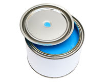 Colore blu fotografie stock
