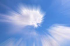 Colore blu astratto Fotografie Stock Libere da Diritti