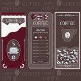 Colore brun de calibres de café Photos libres de droits