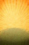 Colorée chaude, rétro fond d'éclat Photographie stock libre de droits