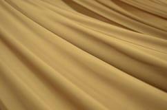Colore crema morbido del tessuto di seta Immagini Stock Libere da Diritti