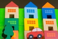 Colore del bene immobile Fotografie Stock Libere da Diritti