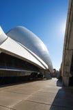 Colore del chiarore di Sun delle vele del teatro dell'opera di Sydeny Fotografie Stock Libere da Diritti