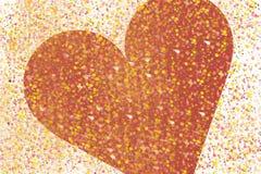 Colore del cuore Immagini Stock Libere da Diritti