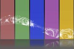 Colore del fondo Immagine Stock