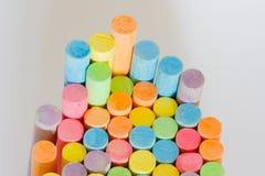 Colore del gesso Fotografia Stock Libera da Diritti