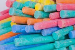 Colore del gesso Fotografia Stock