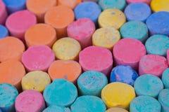 Colore del gesso Fotografie Stock Libere da Diritti