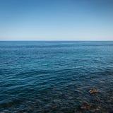 Colore del mare Fotografia Stock