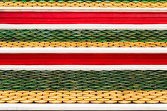 Colore del tempio del tetto Immagine Stock