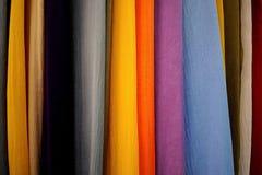 Colore del tessuto Fotografia Stock Libera da Diritti