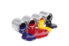 Colore del torchio tipografico Immagini Stock