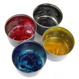 Colore del torchio tipografico Fotografia Stock Libera da Diritti
