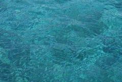 Colore del turchese del mare Fotografia Stock Libera da Diritti