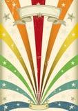 Colore dell'annata royalty illustrazione gratis